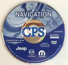 2003 2004 2005 Jeep Wranger Liberty Grand Cherokee Overland Navigation DVD  AG
