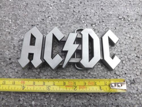 New AC//DC Boucle de ceinture Musique Rock Boucle de ceinture Ceintures et Boucles Entertainment