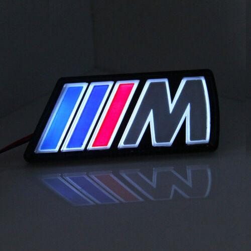 1 X Tri-color M Logo Emblem Badge Led Light Front Grille Grill For BMW X2 X3 X1