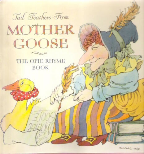 1 of 1 - TAIL FEATHERS FROM MOTHER GOOSE Opie Sendak 1st hardback BABIES NEED BOOKS Class