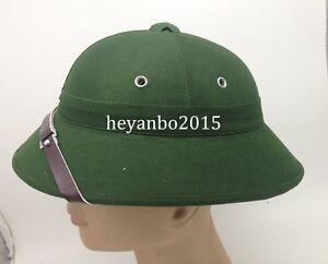 Vietnam War Army Hat Nva Vietcong Vc Pith Helmet Explorer Cap Green Team Sports