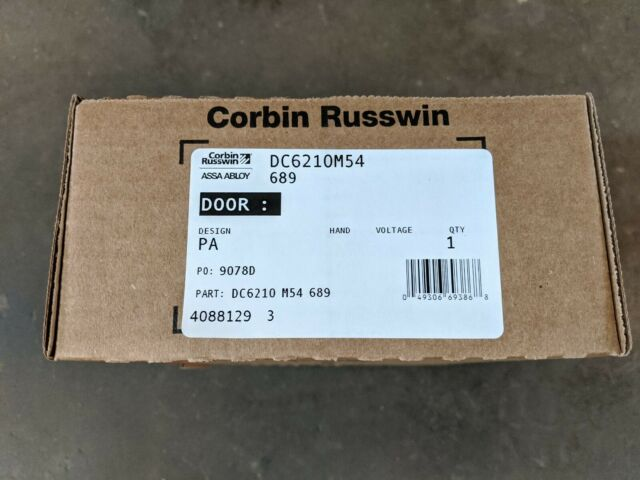 Corbin Russwin Universal Closer Part # DC6210M54