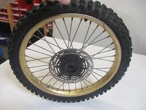 1. Honda Cr 125 R Each 01 Bj.86 JH2 Rim Front 1,60x21 Inch Front Wheel Front