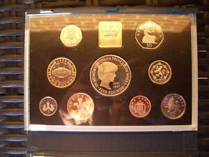 1999 Royal Mint United Kingdom PROOF Coin year Set GREAT BRITAIN, RARE pound