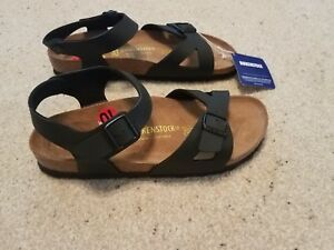 brand new bac2a 52ce7 Birkenstock 265 Rio birko flor black sandals women's 10 41 ...