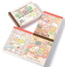 Lot 4 Japan San-X Sumikko Gurashi Cafe mini Note Pad Memo Stationery Cute Kawaii