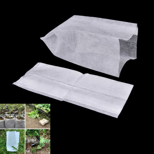 100pcs Seedling Raising Bags Plants Pouch Fiber Nursery Pots Garden Supplies Fad