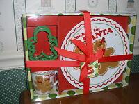 Boston Wearhouse-sugar & Spice Cookies For Santa Set-new