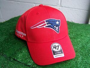 06492af828f Image is loading Bridgestone-Golf-New-England-Patriots-Red-Golf-Hat-