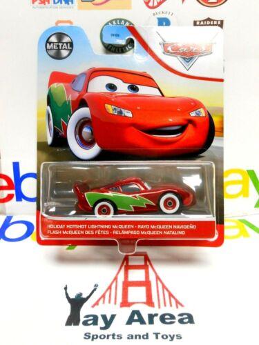 METAL 2020 2021 Disney Pixar Cars Holiday Hotshot Red Green Lightning McQueen
