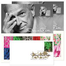 USPS New Oscar de la Renta Keepsake with Random Digital Color Postmark