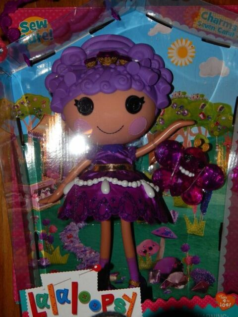 New Charms Seven Carat LalaLoopsy Mini Doll NEW Extremely RARE