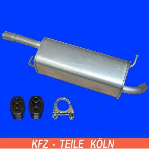 set Mazda 2-1.4//1.25 endschalldämpfer sistema de escape de escape silenciador