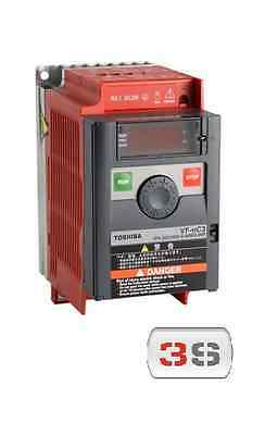 INVERTER VETTORIALE TOSHIBA 2,2 kW 3HP 10A ALIMENTATO 230 Volt MONOFASE