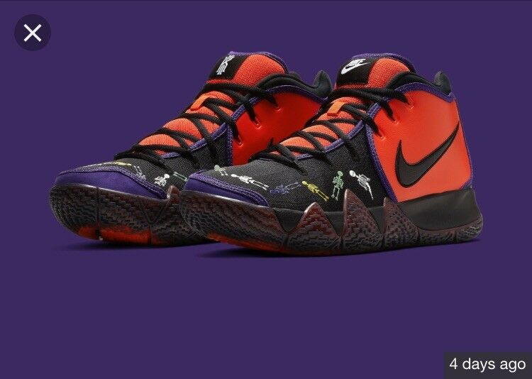 2bddebc331f NIKE KYRIE 4 DAY OF THE DEAD MULTI COLOR Cl0278 800 MENS nafumy6999 ...