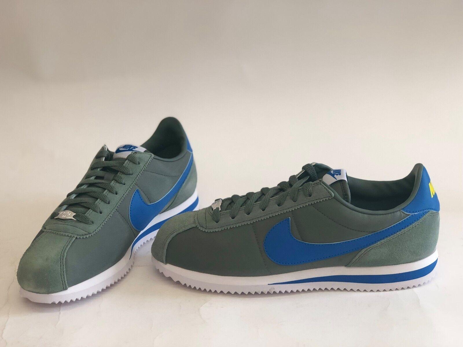 nib mens größe 819720-300 9 nike cortez sneakers - grüne 819720-300 größe grundlegende nylon. 6359eb
