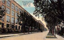 DAYTON OHIO NATIONAL CASH REGISTER WORKS~STEWART STREET VIEW POSTCARD 1910s