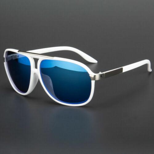 Pilot Sunglasses Vintage Mirror Lens New Men Women Fashion Frame Retro Black