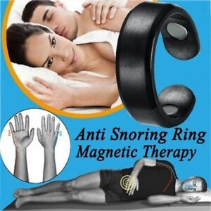 Anti-Snor-Therapeutic-Acupressure-Stop-Snoring-Snore-Ring-Natural-Sleep-Aid-New
