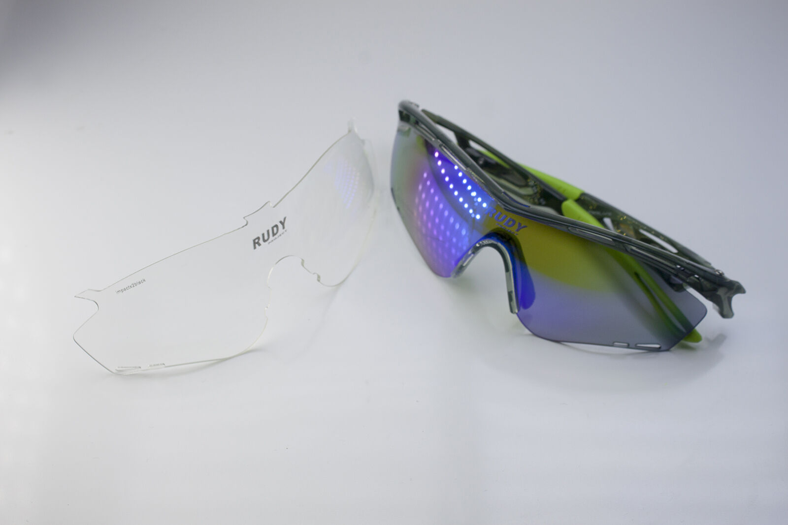 Rudy Project Tralyx Crystal Cycling Sunglasses Extra lens and  case new in box  outlet online store