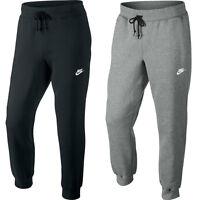 New Men's Nike Joggers Tracksuit Jogging Bottoms Track Sweat Pants - Black Gray