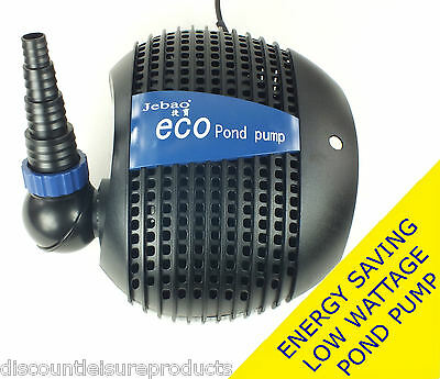 Jebao FTP Eco Energy Saving Low Wattage Dirty Water Pond Filter Pump 4600