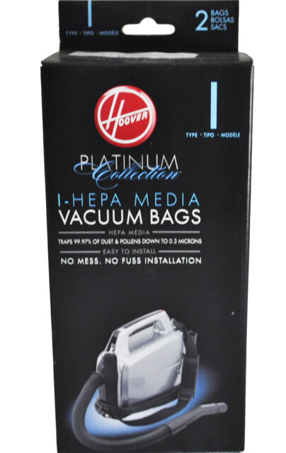 3 Pack Generic Hoover Type H Allergen Canister Vacuum Cleaner Bags # 4010009H