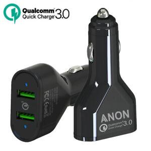 Rapide en voiture chargeur multi 2 Double Port USB plug pour iPhone 8 7 6 plus 6 S 5 S 5 C X