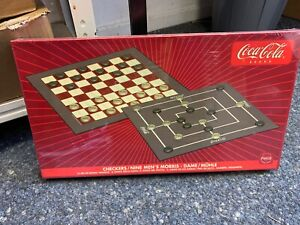 Coca-Cola-Board-Game-Lady-Muhle-Never-Used-With-Orig-Packaging-Top-Condition