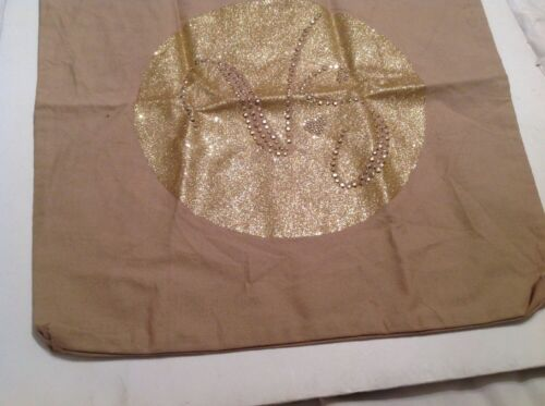 borsa Secret tela L Victorias Con Tacks Libri Medium Gilt Glitter di 0OxBdqz