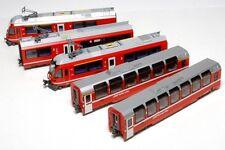 New Kato N Gauge 10-1318 RhB Bernina Express 5 Car Powered Set
