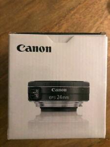 Canon EF-S 24mm f/2.8 STM Objectif - Noir Neuf