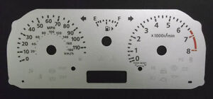 Lockwood SILVER Dial Conversion Kit for Nissan Cube with Sport Icon C127