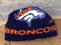 Denver Broncos Fleece Hat -Newborn Baby Boys,Girls, Children, Adult women & men