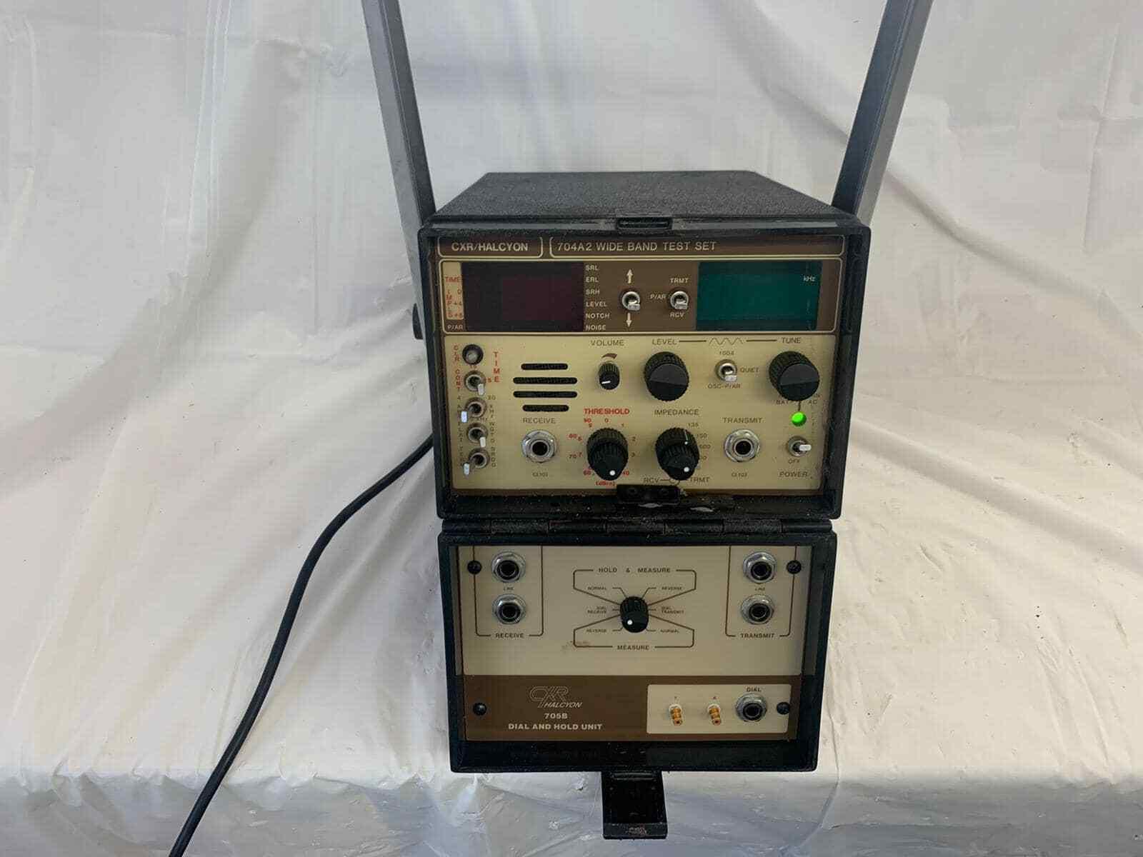 CXR Halcyon 704A2 Wide Band Test Set