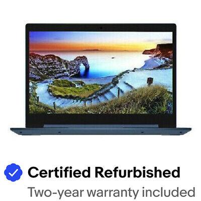 """Certified Refurbished LENOVO 81VU000JUS IdeaPad 1 14IGL05 14"""" HD Intel Silver"""