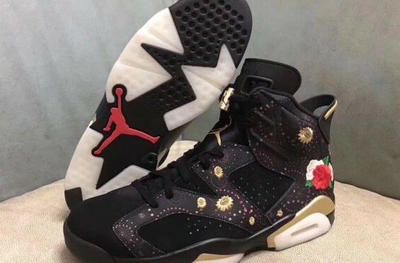 Air Jordan 6 Retro Chinese New Year AJ VI CNY Mens Shoes AA2492-021 Comfortable Seasonal clearance sale