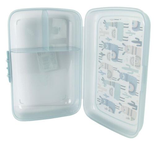 platos recipientes para bebidas /'Lama/' kinderset-niños vajilla-set Lunchbox /& caja 5tlg