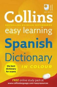 Details about Collins Easy Learning Spanish Dictionary (Collins Easy  Learning  9780007331512