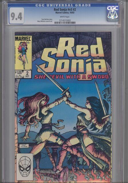 Red Sonja V3 #2  CGC 9.4 1983 Marvel Barbarian Comic