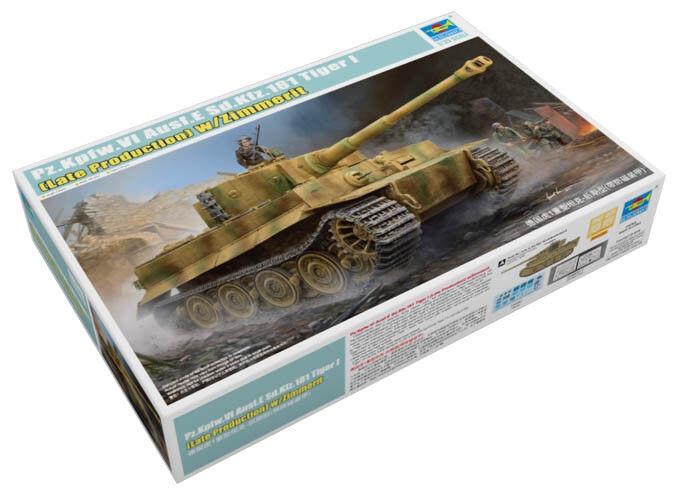 Trumpeter 9369540 Panzerkampfwagen VI Tiger Ausf.E Sd.Kfz.181 1 1 1 35 Modellbausatz    Sehen Sie die Welt aus der Perspektive des Kindes  acb3d4