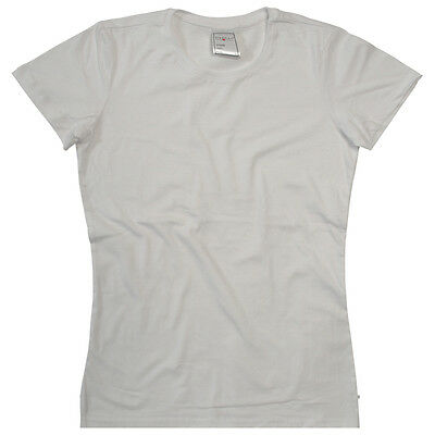 Brand New Women's Plain Blank Budget Short Sleeve Cotton Stedman T Shirt