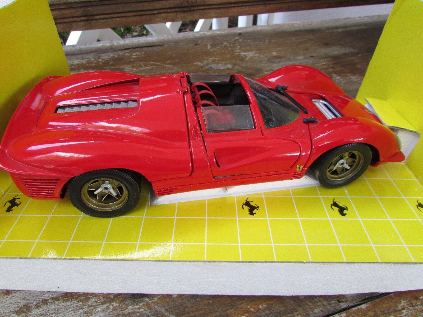 1967 Ferrari 330 P4 puede am coche de carreras Jouef Evolution 1 18 Limited Edit V12 Italia