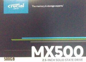 "Disque Dur Interne SSD 500 GO Crucial CT500MX SATA 2,5 "" Remplacement Disque Dur"