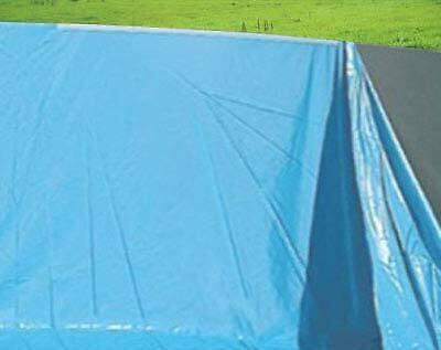 Stärke 0,5mm Ø 4,57m x 1,32m Pool-Innenhülle Innenplane Schwimmbadfolie