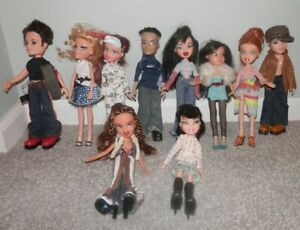 BRATZ-BOY-GIRL-DOLL-COLLECTION-LOT-with-CLOTHES-SHOES-10-total-2001-2003