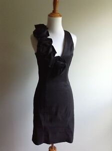 1341dca9e79 Image is loading New-NWOT-Cache-Black-Dress-Size-8-Medium