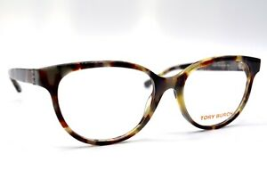 NEW-TORY-BURCH-TY-2071-1623-TORTOISE-AUTHENTIC-EYEGLASSES-FRAME-RX-51-16-7