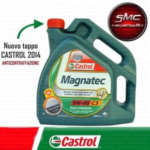 olio motore originale castrol magnatec 5w 40 c3 lt 4 ebay. Black Bedroom Furniture Sets. Home Design Ideas