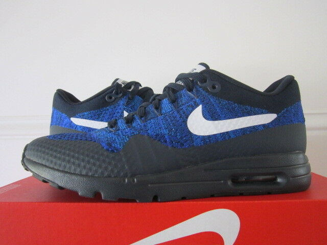 nike air max 1 / ultra flyknit obsidienne court noir / 1 blanc / photo Bleu  843387 401 f31586